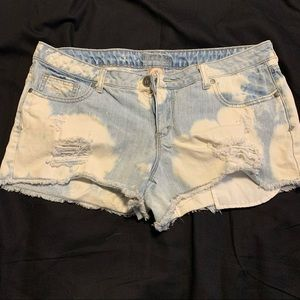 Decree Tie Dye Shorts size 15 High waisted